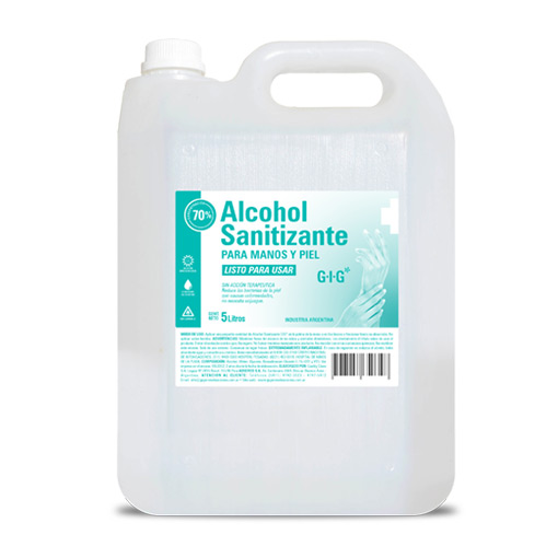 Alcohol Sanitizante